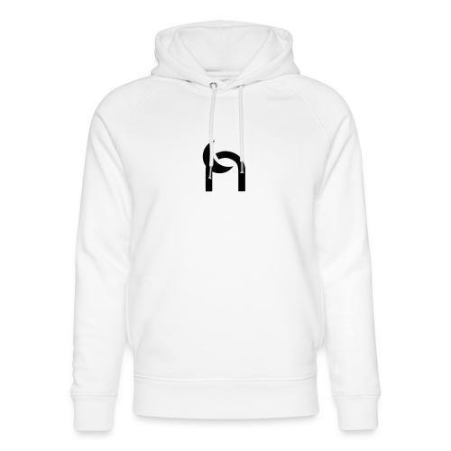 Nocturnal n logo black - Unisex Organic Hoodie by Stanley & Stella