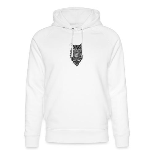 uil_groot - Uniseks bio-hoodie van Stanley & Stella