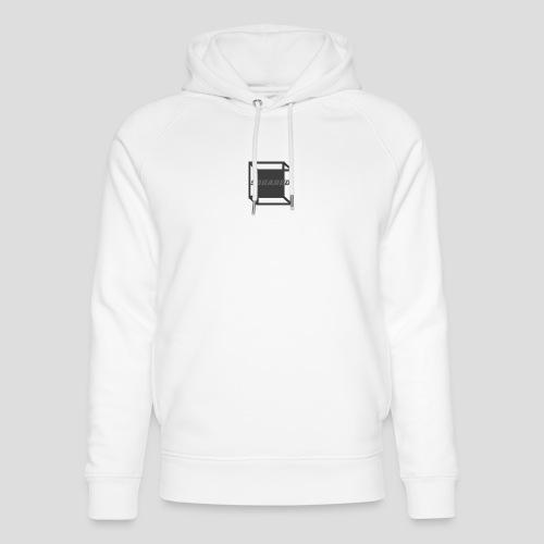 Squared Apparel Black / Gray Logo - Unisex Organic Hoodie by Stanley & Stella