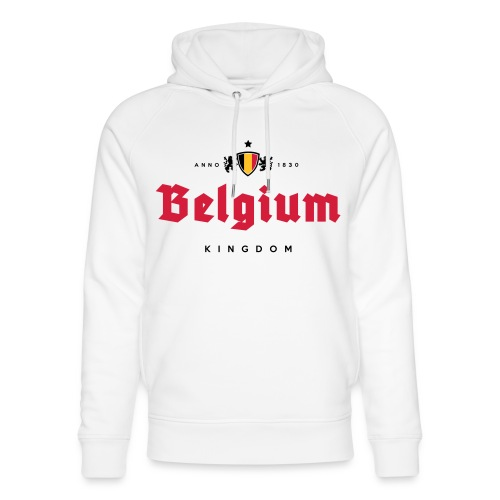 Bierre Belgique - Belgium - Belgie - Sweat à capuche bio Stanley & Stella unisexe
