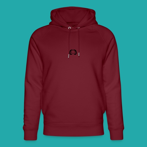 Crowd Control Controller Logo Black Large - Unisex Organic Hoodie by Stanley & Stella