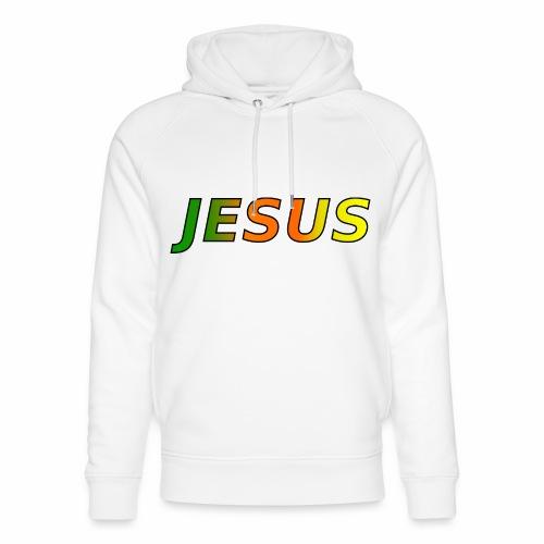 JESUS - grün/orange/gelb - Unisex Bio-Hoodie von Stanley & Stella