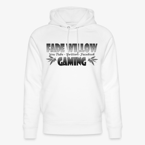 Fade Willow Gaming - Unisex Organic Hoodie by Stanley & Stella