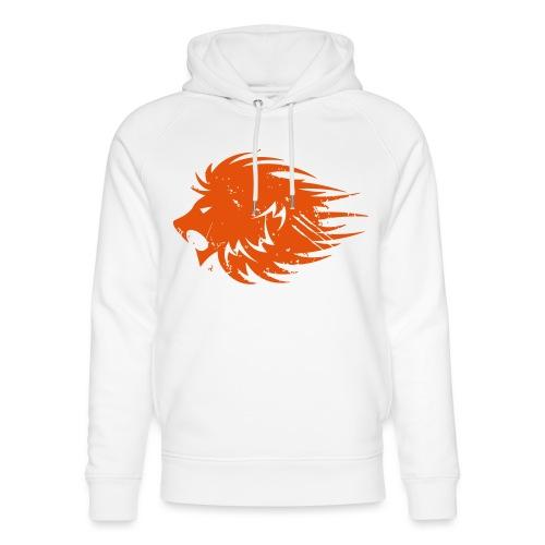 MWB Print Lion Orange - Unisex Organic Hoodie by Stanley & Stella