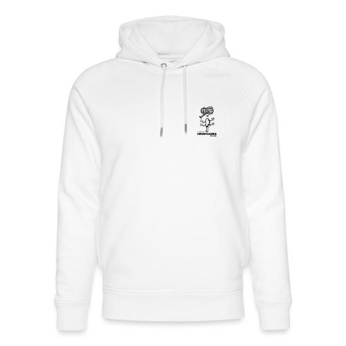 Døgnfluerne Short Comic Simpelt Logo Design. - Stanley & Stella unisex hoodie af økologisk bomuld