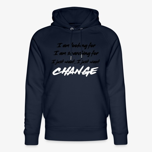 Change (NF) 1.1 - Unisex Organic Hoodie by Stanley & Stella
