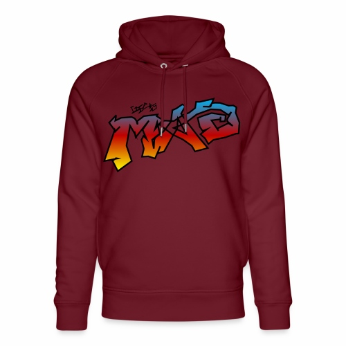 Life Is MAD CGI Makeover TM collaboration - Unisex Organic Hoodie by Stanley & Stella