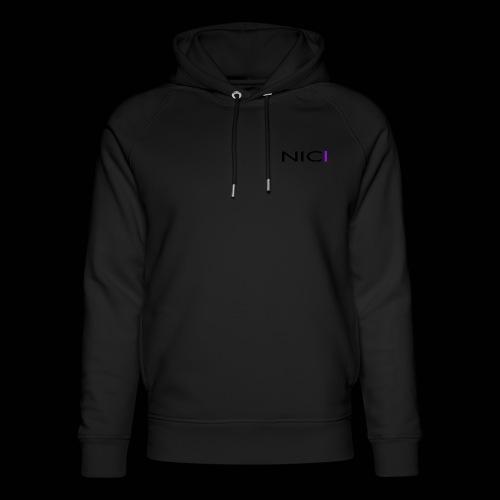 NICI logo Black - Stanley & Stellan unisex-luomuhuppari