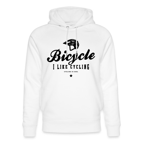 bicycle - Ekologiczna bluza z kapturem typu unisex Stanley & Stella