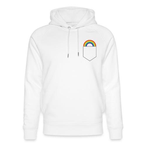 Lomme regnbue - Stanley & Stella unisex hoodie af økologisk bomuld