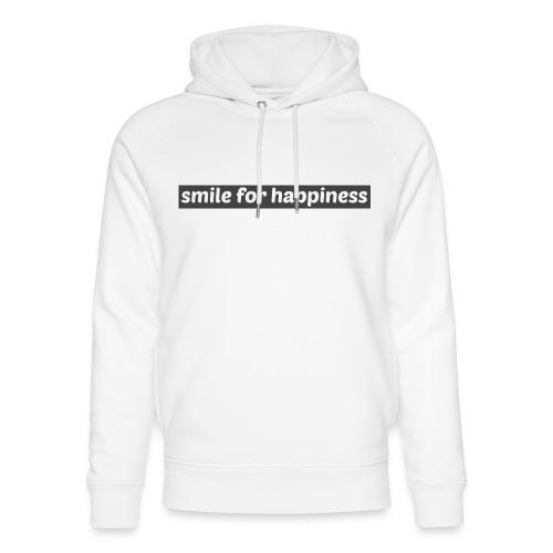 smile for happiness - Ekologisk luvtröja unisex från Stanley & Stella