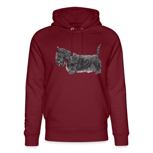 skotsk terrier ub - Stanley & Stella unisex hoodie af økologisk bomuld