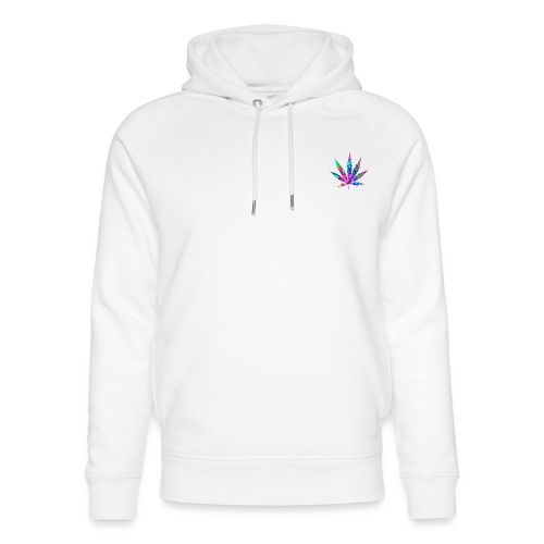 Weed Leaf - Stanley & Stella unisex hoodie af økologisk bomuld