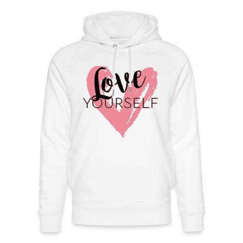 Love Yourself Logo von Pascal Voggenhuber - Unisex Bio-Hoodie von Stanley & Stella