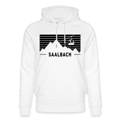 Saalbach Stripes - Uniseks bio-hoodie van Stanley & Stella