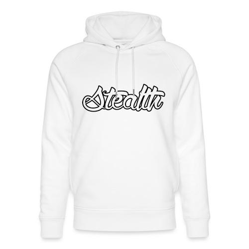 Stealth White Merch - Unisex Organic Hoodie by Stanley & Stella
