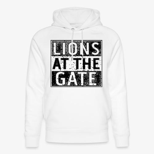 LIONS AT THE GATE BAND LOGO - Uniseks bio-hoodie van Stanley & Stella