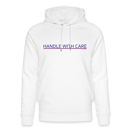 To handle with care - Sweat à capuche bio Stanley & Stella unisexe
