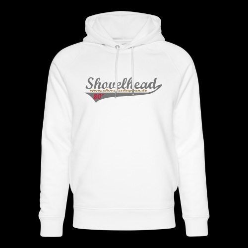 """Shovelheadschriftzug 80 im """"Baseballdesign"""" - Unisex Bio-Hoodie von Stanley & Stella"""