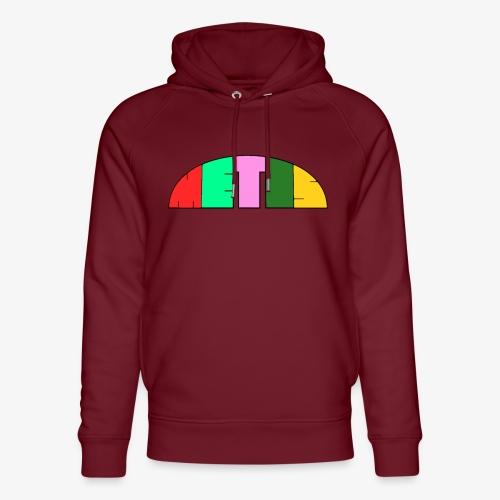 Metis rainbow logo - Unisex Organic Hoodie by Stanley & Stella