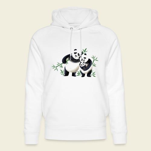 Pandafamilie Baby - Unisex Bio-Hoodie von Stanley & Stella