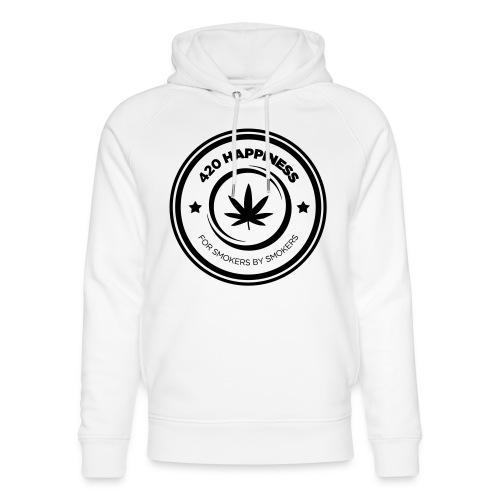 420_Happiness_logo - Stanley & Stella unisex hoodie af økologisk bomuld