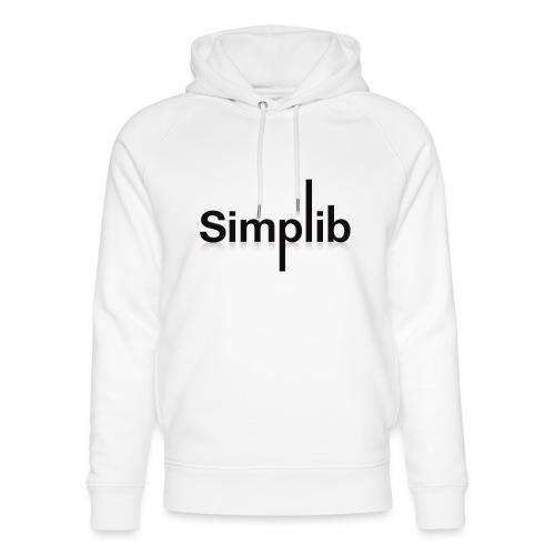 Logo-Simplib-ok - Ekologiczna bluza z kapturem typu unisex Stanley & Stella