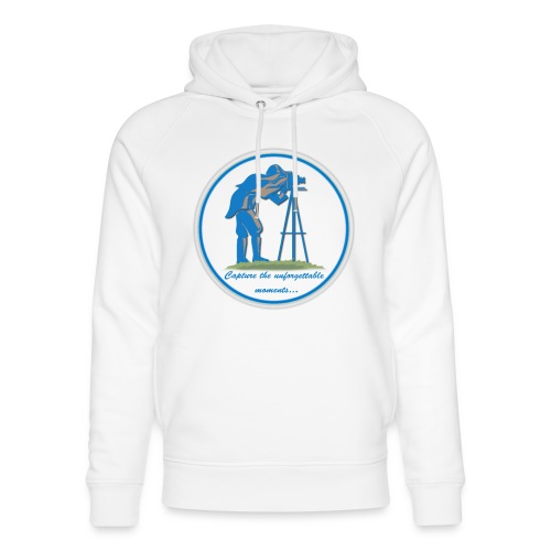 Logo Capture the Moment - Unisex Organic Hoodie by Stanley & Stella