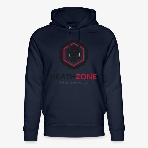 DeathZone Logo Avatar - Ekologiczna bluza z kapturem typu unisex Stanley & Stella