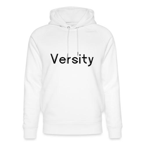 Versity Original Transparent logo - Unisex Organic Hoodie by Stanley & Stella