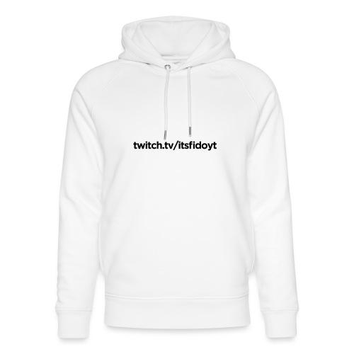 Fido - Twitch Link - Stanley & Stella unisex hoodie af økologisk bomuld