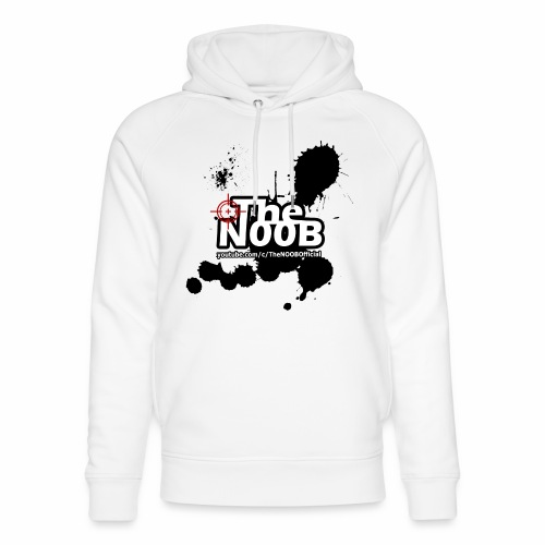 TheNOOB Official Logo Paint Splat! - Unisex Organic Hoodie by Stanley & Stella