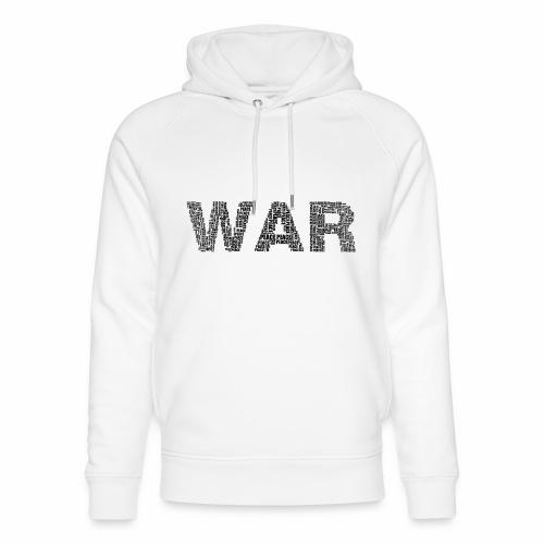 Napis stylizowany War and Peace - Ekologiczna bluza z kapturem typu unisex Stanley & Stella