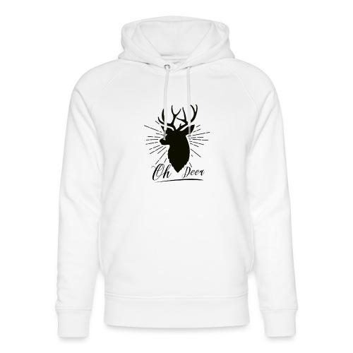 Oh Deer - Uniseks bio-hoodie van Stanley & Stella