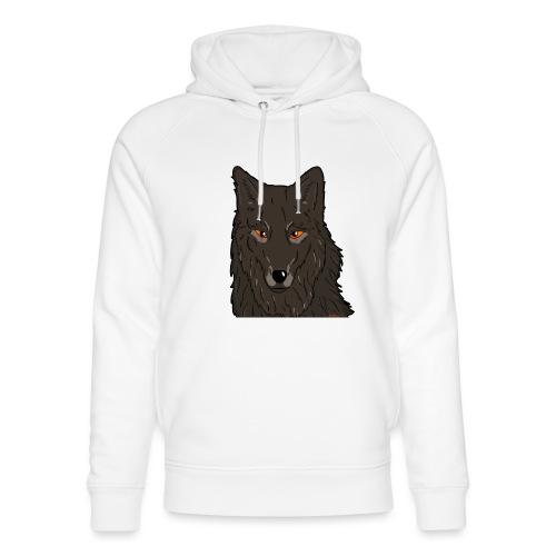 HikingMantis Wolf png - Stanley & Stella unisex hoodie af økologisk bomuld
