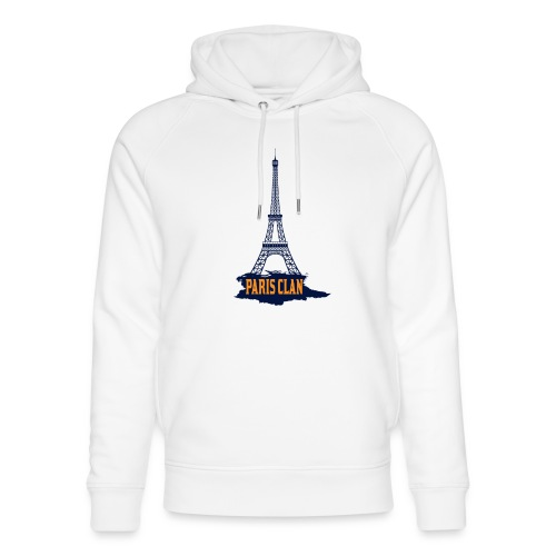 Paris Eiffel - Unisex Organic Hoodie by Stanley & Stella