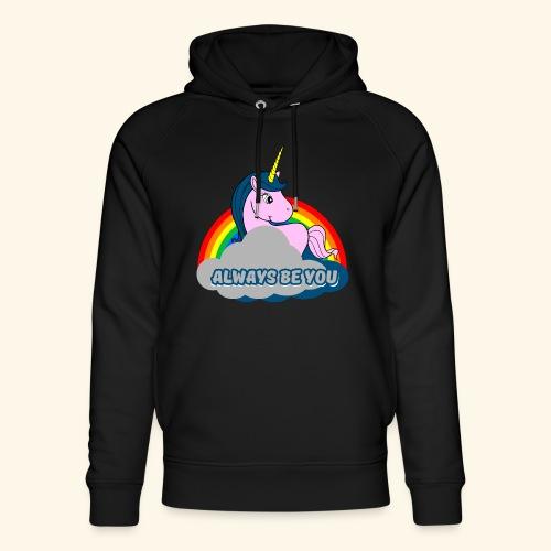 Always be you Einhorn T-Shirt - Unisex Bio-Hoodie von Stanley & Stella