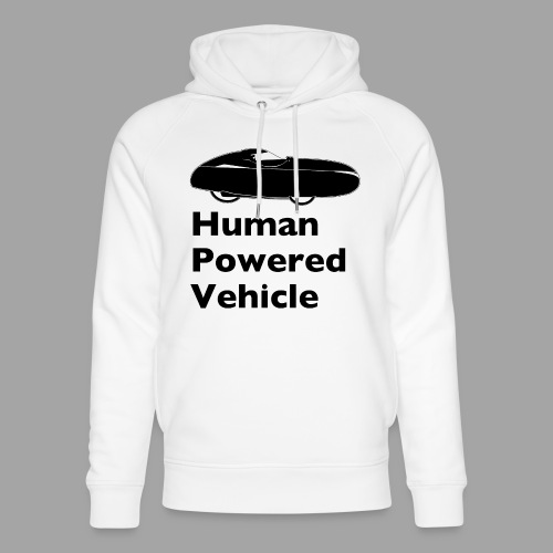 Quest Human Powered Vehicle 2 black - Stanley & Stellan unisex-luomuhuppari