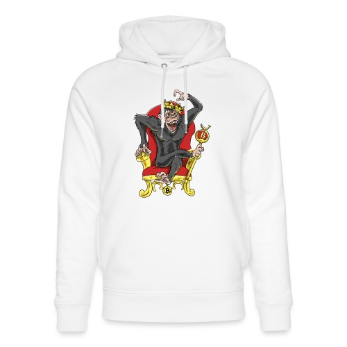 Bitcoin Monkey King - Beta Edition - Unisex Bio-Hoodie von Stanley & Stella