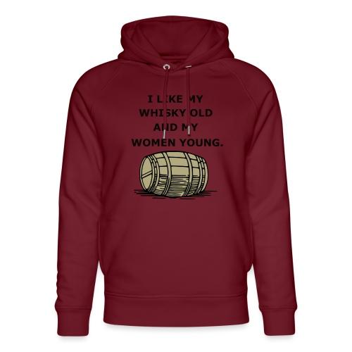Whiskey / whiskey saying gift idea - Unisex Organic Hoodie by Stanley & Stella