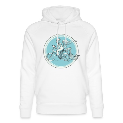 To the Beach - Backround - Unisex Bio-Hoodie von Stanley & Stella