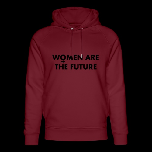 women are the future - Ekologiczna bluza z kapturem typu unisex Stanley & Stella