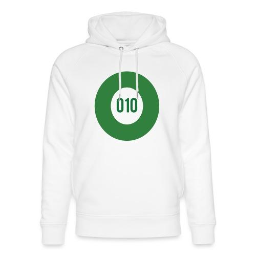010 logo - Uniseks bio-hoodie van Stanley & Stella