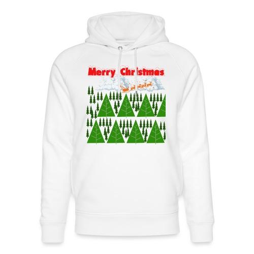 christmas time. Tempo di Natale - Felpa con cappuccio ecologica unisex di Stanley & Stella