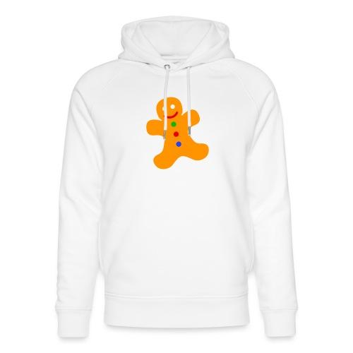 Gingerbread Man - Unisex Organic Hoodie by Stanley & Stella