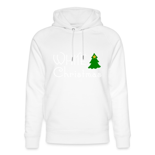 White Christmas - Unisex Organic Hoodie by Stanley & Stella