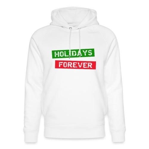 holidays forever - Unisex Bio-Hoodie von Stanley & Stella