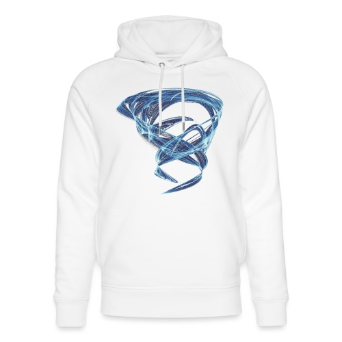 Chaotic Ice Water Whirlwind 11387ice - Unisex Organic Hoodie by Stanley & Stella