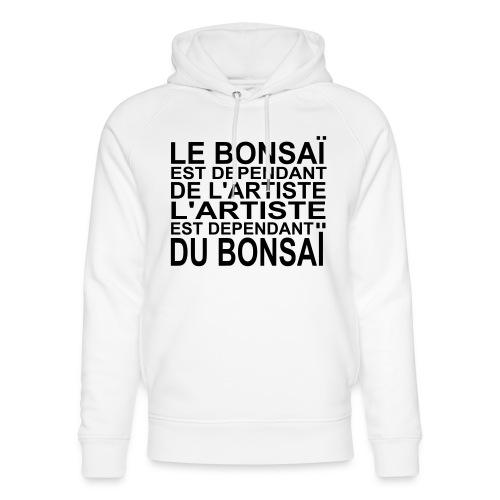 bonsai_dependant_de_lartiste - Sweat à capuche bio Stanley & Stella unisexe