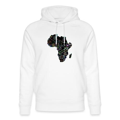 Afrique Néons - Sweat à capuche bio Stanley & Stella unisexe